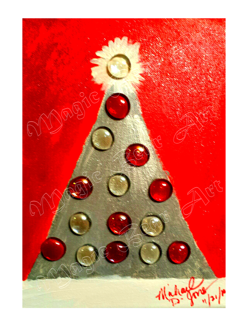 Silver and Red Christmas