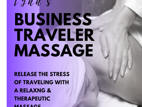 Therapeutic Lynn's Business Traveler Massage