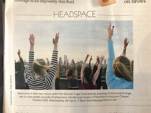 Evening Standard, Headspace - April 2017