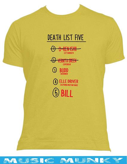 KILL BILL - KILL LIST