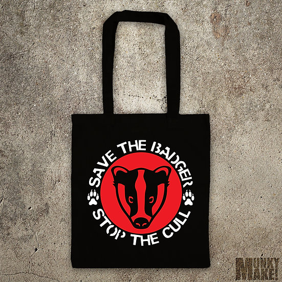 SAVE THE BADGER - TOTE BAG