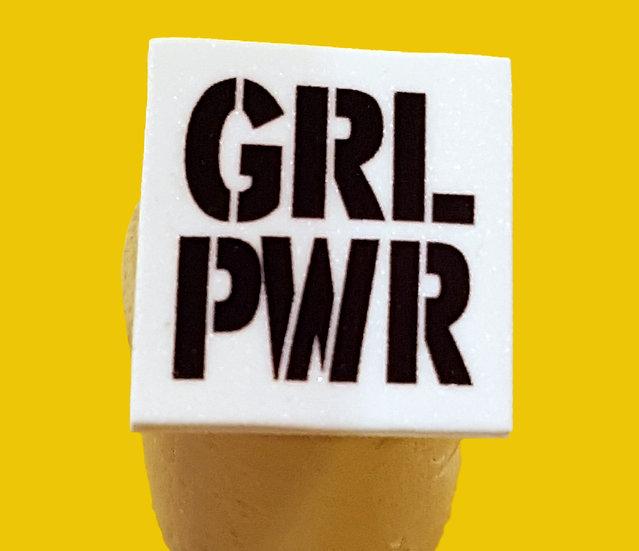 GRL PWR - HANDMADE PIN