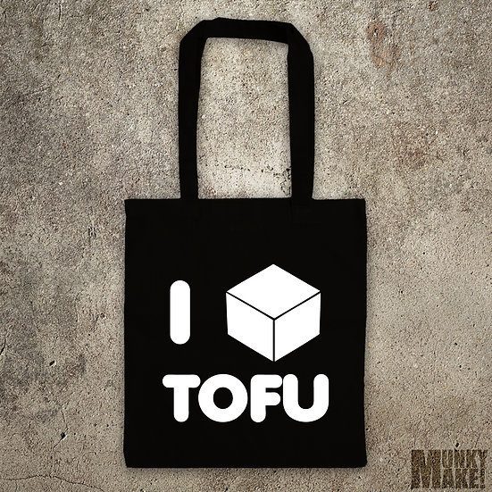 I LOVE TOFU - TOTE BAG