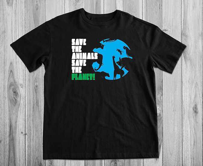 Save The Animals Save The Planet