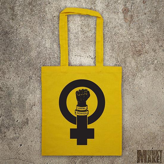 FEMINIST - GIRL POWER - TOTE BAG