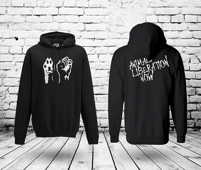 Animal Liberation Now 2  - UNISEX HOODIE