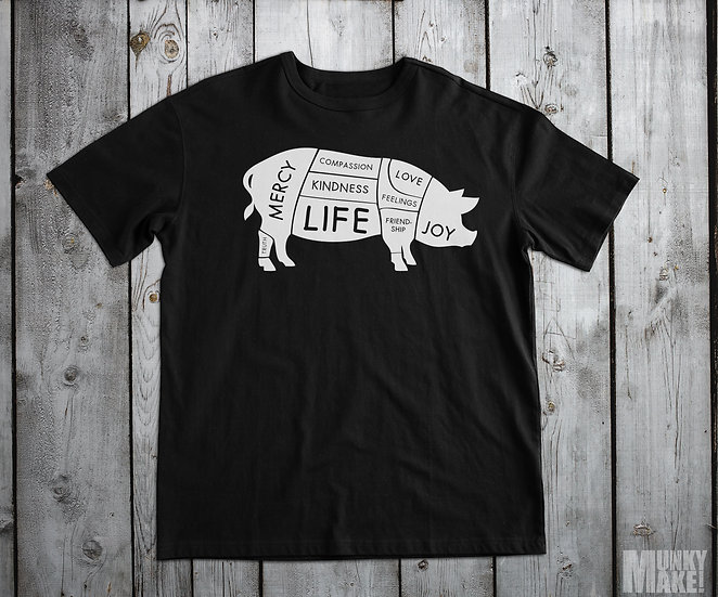 HAPPY VEGAN PIG