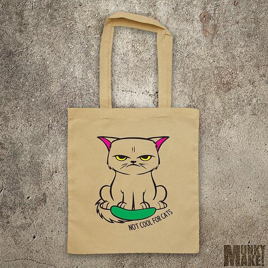 CATS vs CUCUMBERS - TOTE BAG