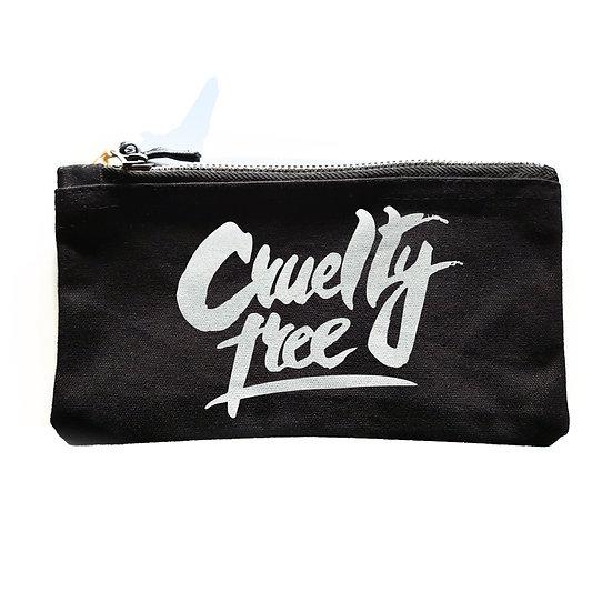 CRUELTY FREE - makeup / wash bag