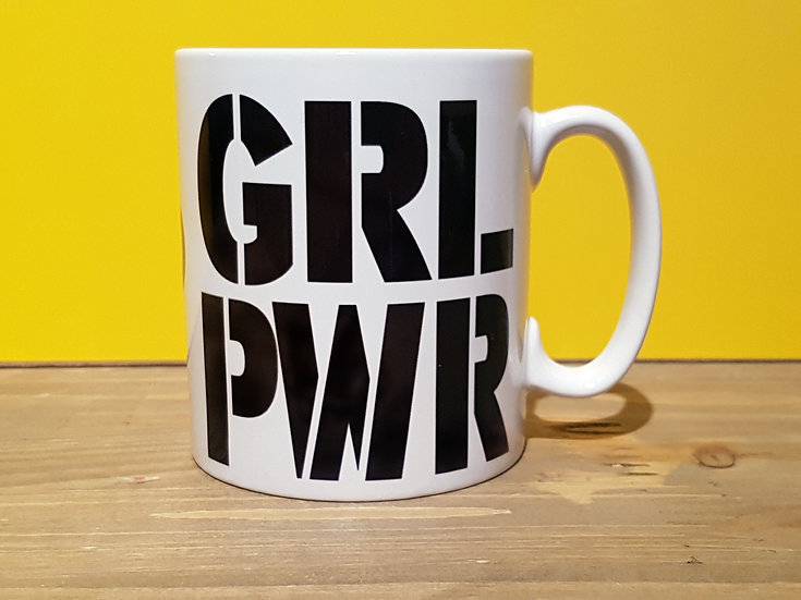 GRL PWR - FEMINIST - MUG