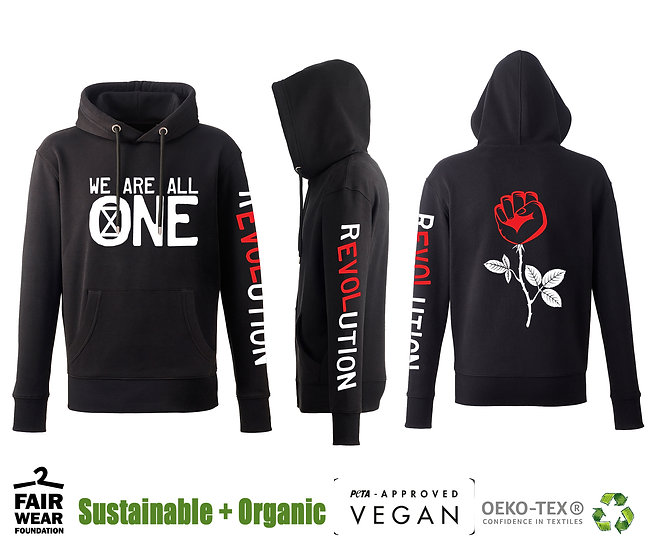 REVOLUTION - We Are All One - UNISEX HOODIE