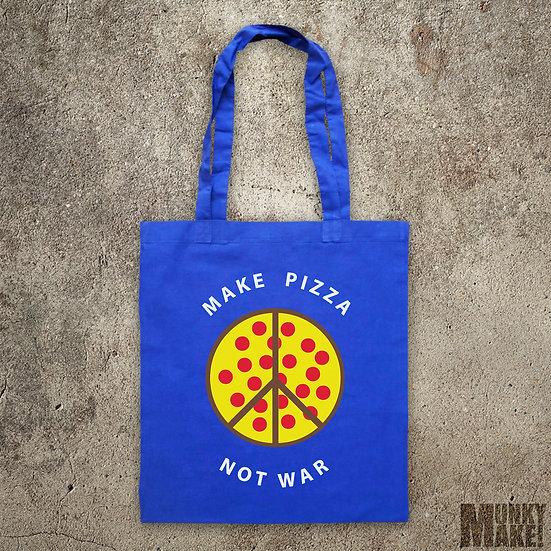 MAKE PIZZA - NOT WAR - TOTE BAG