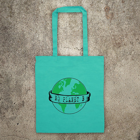 NO PLANET B - TOTE BAG