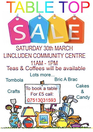 Come along and sell your wares or come a