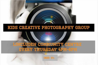 Kids Creative Photography group will run