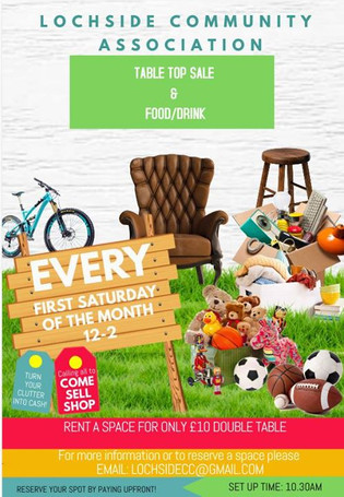 TABLE TOP SALE_Saturday 2nd June, _Come