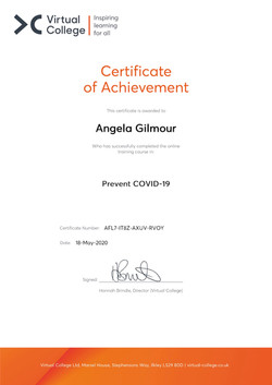 Angela Gilmour - Prevent COVID-19