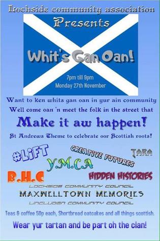 Arts and crafts, highland dancers, scott