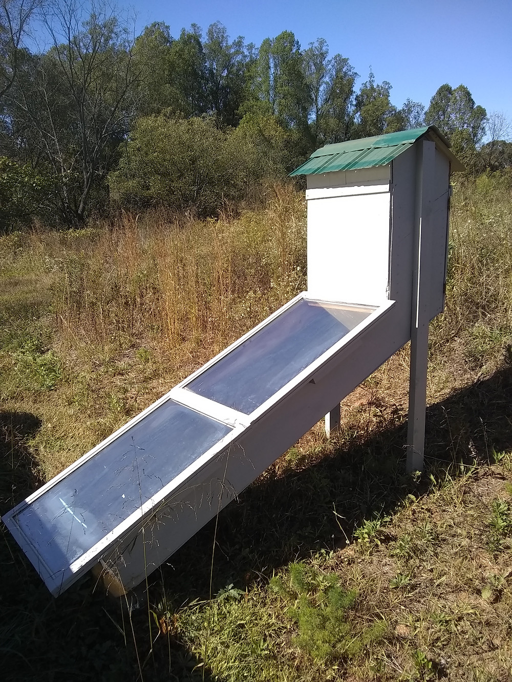 Home-made solar dehydrator