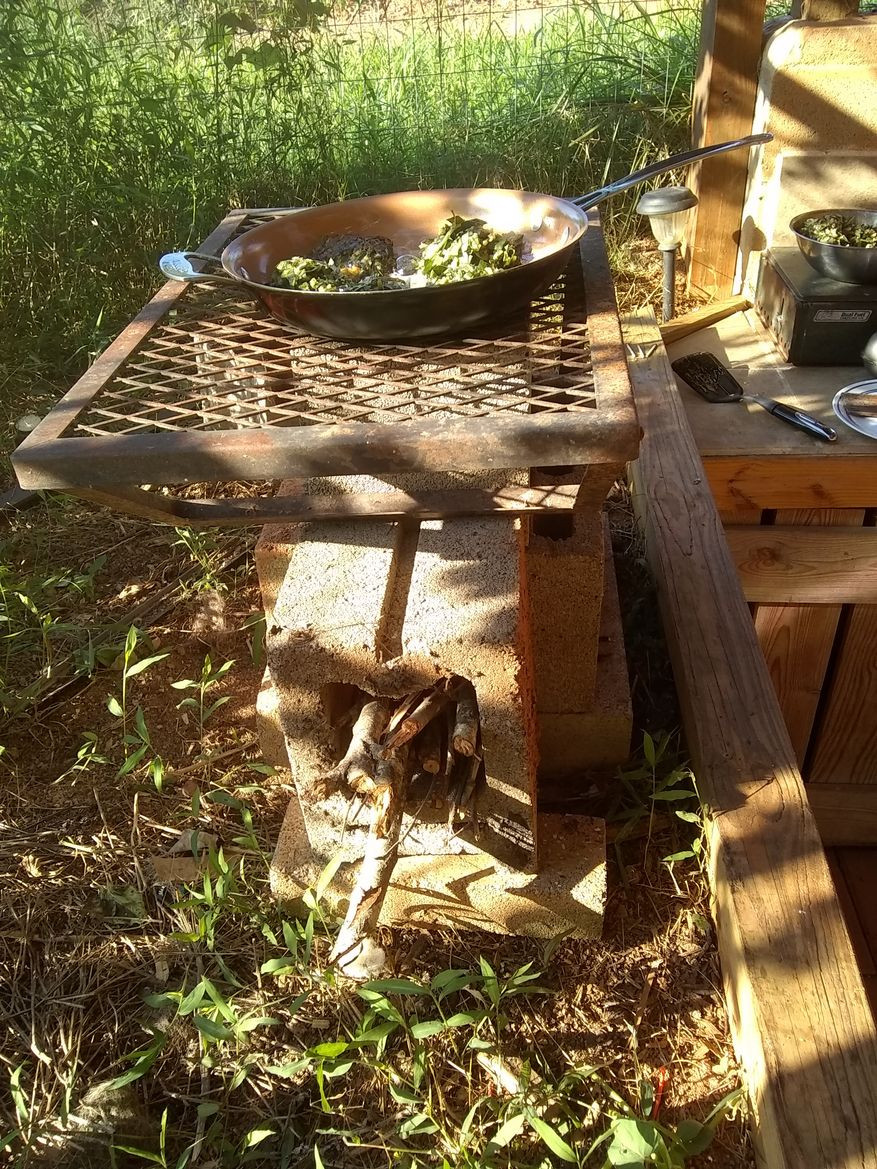 a better cinder block rocket stove