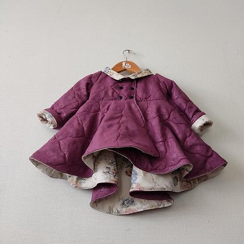Dutchess Coat - Dark Purple