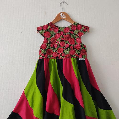 Swirl Dress - Rose