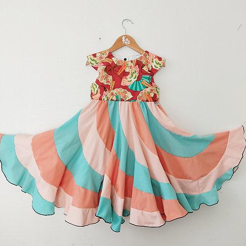 Swirl Dress - Asian