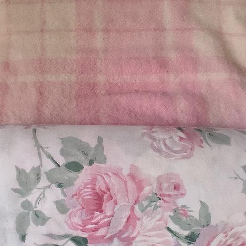 Dutchess Coat - Pink check floral