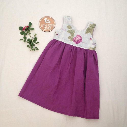 Pixie dress - Purple Rose