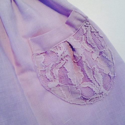 Pinafore - lavender