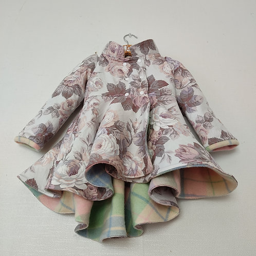 Dutchess Coat - Check Floral