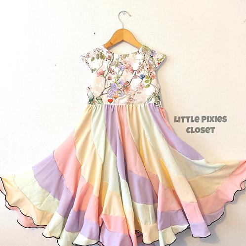 Swirl Dress - Floral