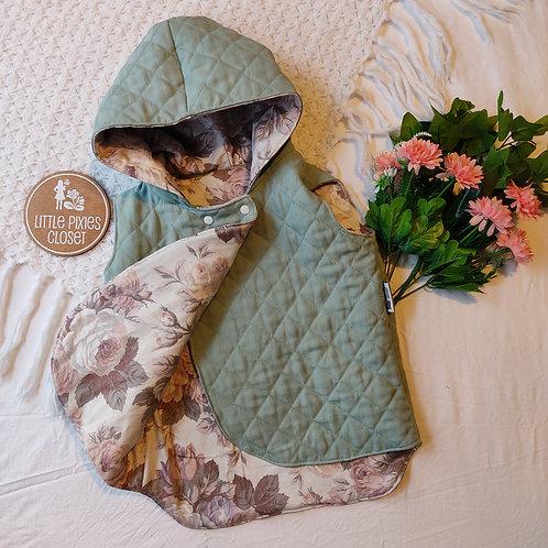 Reversible Pixie Vest - Mint