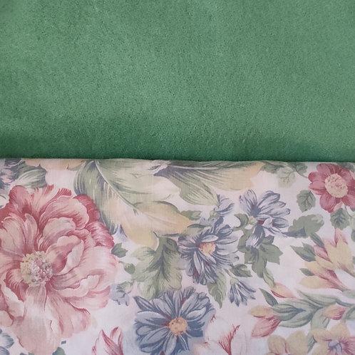 Dutchess Coat - Mint floral