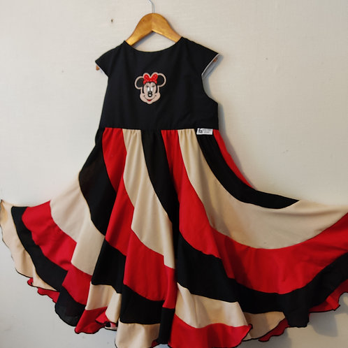 Swirl Dress - Minnie Mouse