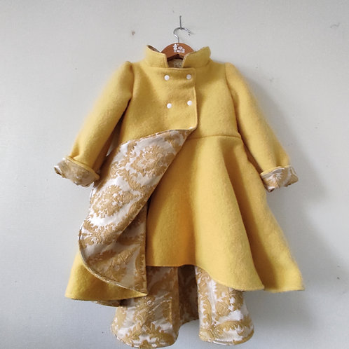 Dutchess Coat - Yellow