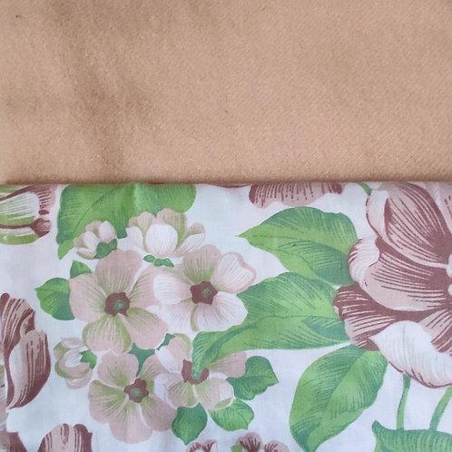 Dutchess Coat - Caramel & Green floral