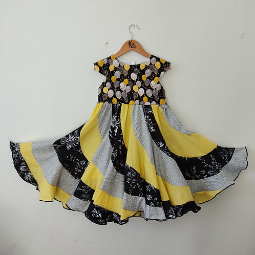 Swirl Dress - Balloons