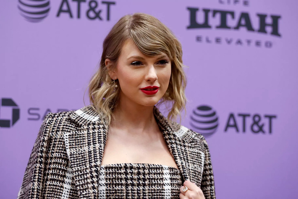 "Taylor Swift arrives for the Sundance Film Festival premiere of her Netflix documentary ""Miss Americana"" at the Eccles Theatre in Park City on Thursday, Jan. 23, 2020. Laura Seitz, Deseret News"