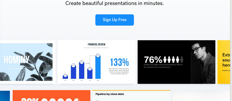 Step aside Google Slides—Beautiful.ai is the future of deck-making.