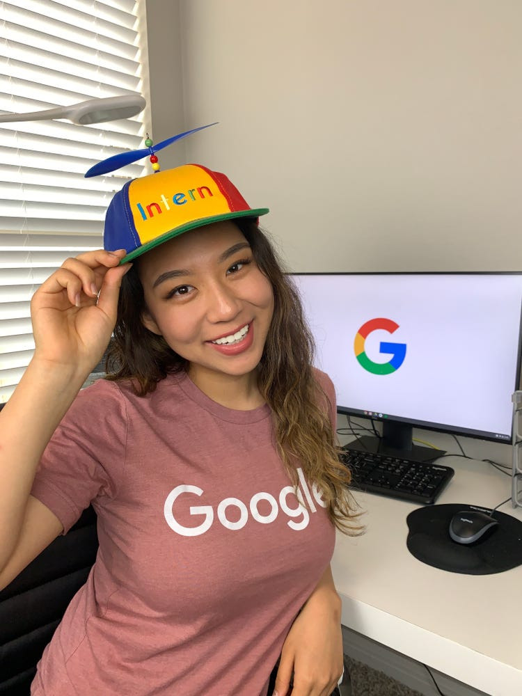 Google intern and TikTok influencer: A day in the life - Business ...