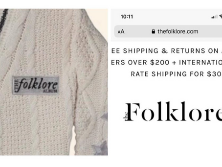 Here's why I think Taylor Swift DIDN'T steal The Folklore's Logo