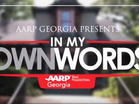 AARP Georgia Presents... In My Own Words featuring Tina Lifford