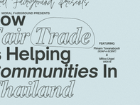 How Fair Trade is Helping Communities in Thailand