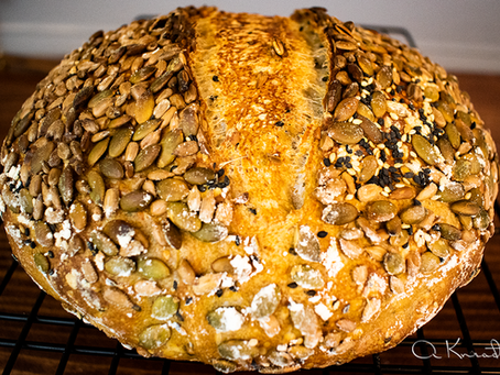 Sourdough Bread with Seeds