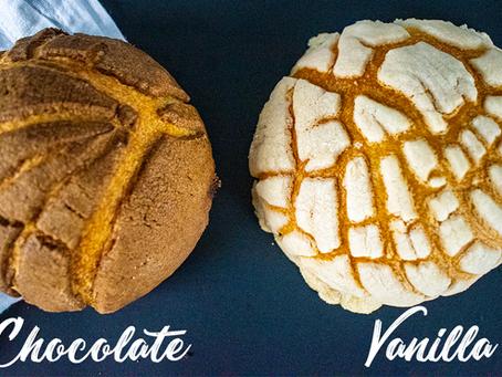 Sourdough Conchas (Mexico's Favorite Sweet Bread)