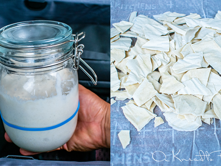 How to travel with your Sourdough Starter