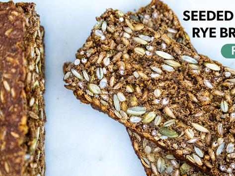 Sourdough Seeded 100% Rye Bread