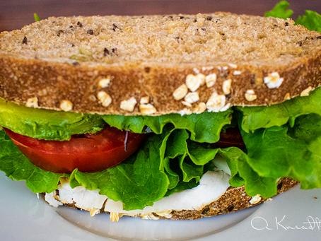 Sourdough Multigrain Sandwich Bread