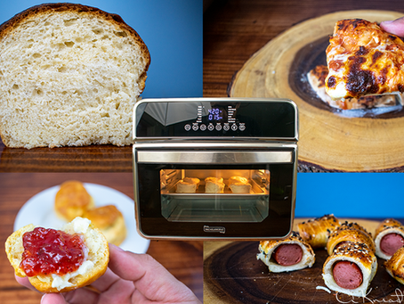 4 Sourdough Recipes in an Air Fryer Toaster Oven